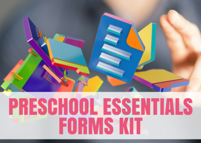 Preschool Essentials Forms Kit