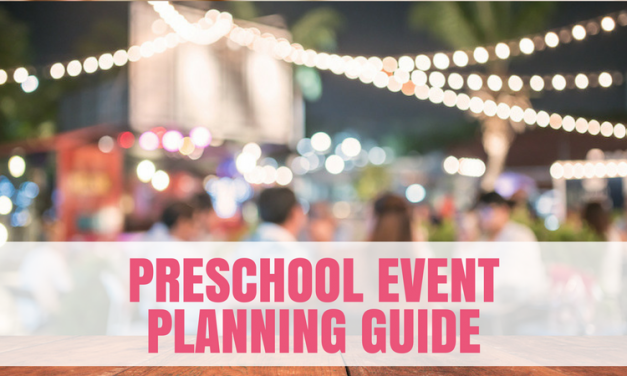 Preschool Event Planning Guide